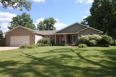 Elburn Single Family Home Contingent: 43w645 Old Midlothian Road