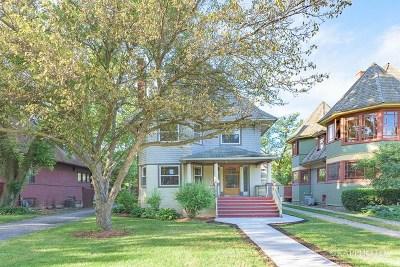 Oak Park Single Family Home For Sale: 1023 Chicago Avenue