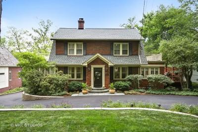 Glen Ellyn Single Family Home For Sale: 697 North Park Boulevard