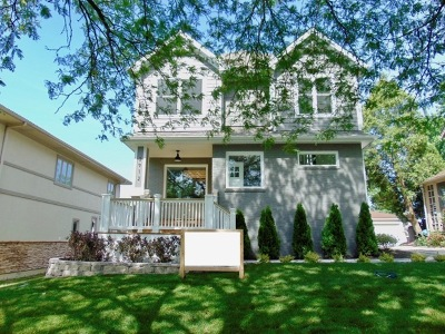 Western Springs Single Family Home For Sale: 3912 Rose Avenue