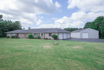 Marengo Single Family Home For Sale: 18807 River Road