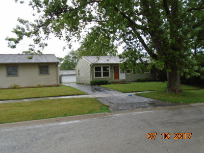 Steger Single Family Home For Sale: 3314 Florence Avenue