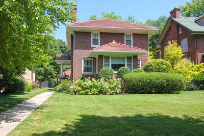 River Forest Single Family Home For Sale: 749 Jackson Avenue