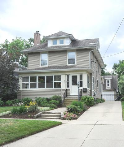 Glen Ellyn Single Family Home Contingent: 495 Phillips Avenue