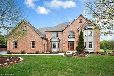 Crystal Lake Single Family Home Contingent: 6415 Colonel Holcomb Drive