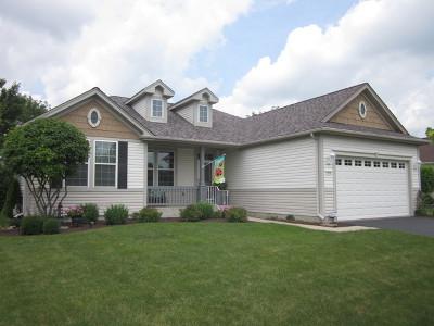 Huntley Single Family Home Contingent: 12610 Oak Grove Drive