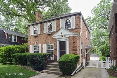 River Forest Single Family Home Price Change: 748 Forest Avenue
