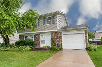 Hoffman Estates Single Family Home Price Change: 1385 Westbury Drive