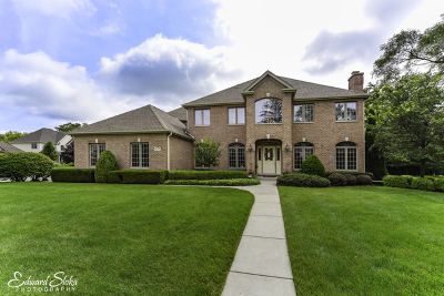 Crystal Lake Single Family Home For Sale: 577 Oak Hollow Road