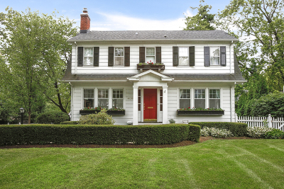 Glen Ellyn Single Family Home Contingent: 409 Hill Avenue