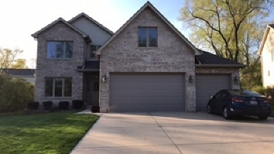 Schaumburg Single Family Home For Sale: 1912 Weston Lane