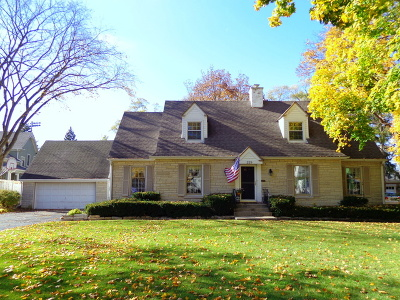 Libertyville Single Family Home Re-Activated: 229 Sunset Drive