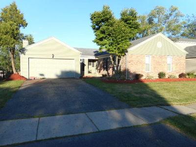 Carol Stream Single Family Home For Sale: 703 Hickory Lane