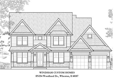 Wheaton Single Family Home For Sale: 0n254 Woodland Drive