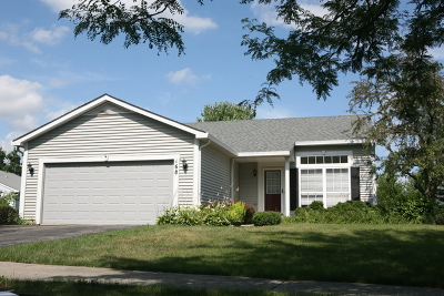 Bolingbrook Single Family Home For Sale: 168 Woodlet Lane