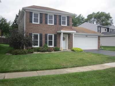 Roselle Single Family Home For Sale: 590 Stafford Drive