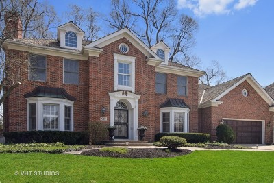 Glen Ellyn Single Family Home For Sale: 917 Winslow Circle