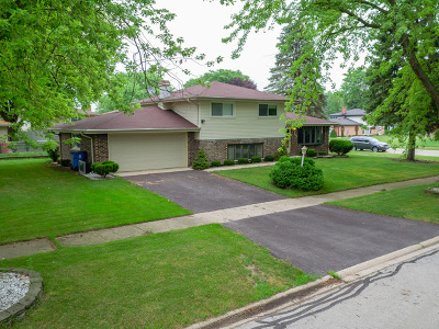 Palos Hills Single Family Home For Sale: 7800 West 107th Street