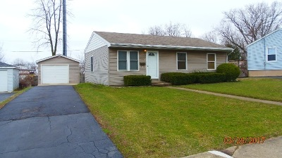 Crystal Lake Single Family Home Contingent: 314 Hickory Drive