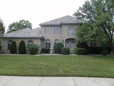 Palos Park Single Family Home For Sale: 642 Lake Trail Drive