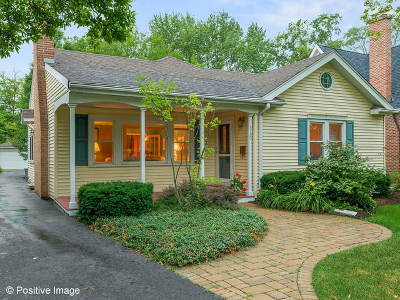 Western Springs Single Family Home For Sale: 5120 Woodland Avenue