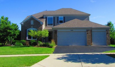 Hoffman Estates Single Family Home Contingent: 5880 Chatham Drive