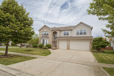 Bolingbrook Single Family Home Price Change: 2190 Muirfield Trail