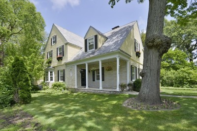 Wilmette Single Family Home For Sale: 1306 Greenwood Avenue