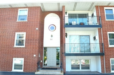 Westmont Condo/Townhouse For Sale: 515 North Cass Avenue #1A