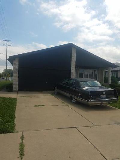 Calumet City  Single Family Home For Sale: 267 Escanaba Avenue