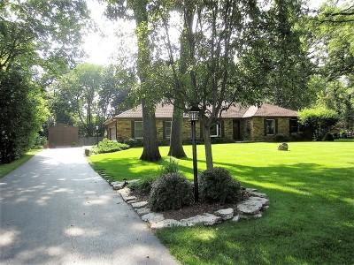 Barrington Single Family Home Contingent: 26014 North Geraldine Lane