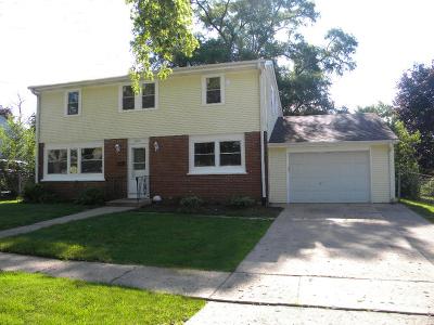 Carpentersville Single Family Home For Sale: 6023 Hampton Drive