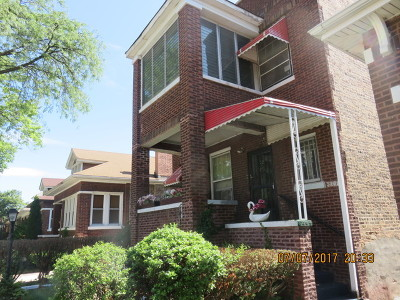Chicago Multi Family Home Back on Market: 8031 South Kimbark Avenue South