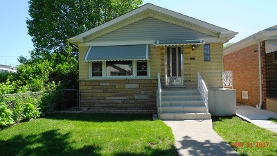 Chicago Single Family Home For Sale: 3849 North Odell Avenue