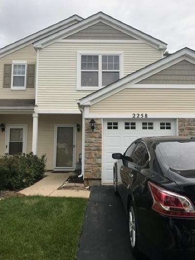 Carpentersville Condo/Townhouse For Sale: 2258 Flagstone Lane #2258
