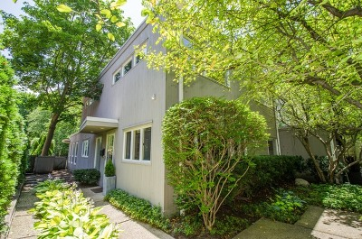 Winnetka Single Family Home For Sale: 1212 Oak Street