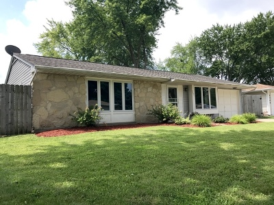 Elgin Single Family Home Contingent: 1151 Borden Drive