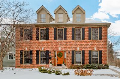 Wheaton Single Family Home For Sale: 1019 North Cross Street