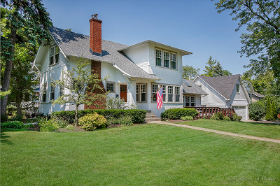 Glen Ellyn Single Family Home Contingent: 618 Hillside Avenue