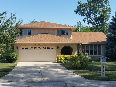 Palos Hills Single Family Home For Sale: 8034 Circle Drive