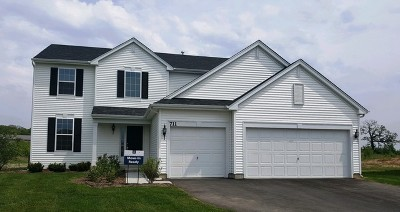 Hampshire Single Family Home For Sale: 711 Olive Lane