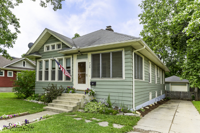 Elgin Single Family Home Contingent: 726 North Grove Avenue