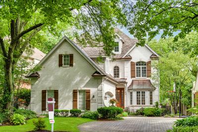 Clarendon Hills Single Family Home For Sale: 314 Harris Avenue
