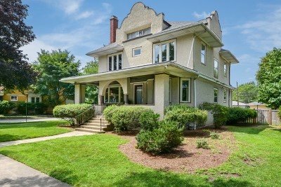 Oak Park Single Family Home For Sale: 533 South Kenilworth Avenue