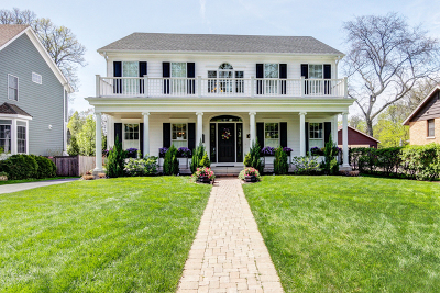 Wheaton Single Family Home For Sale: 406 South Prospect Street