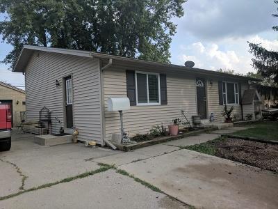 Carpentersville Single Family Home For Sale: 629 Jefferson Avenue