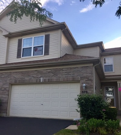 Elgin Condo/Townhouse For Sale: 870 Countryfield Lane
