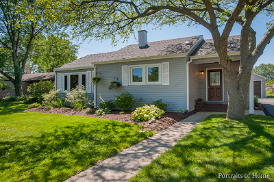 Lombard Single Family Home Contingent: 513 East Prairie Avenue