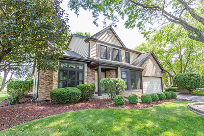 Schaumburg Single Family Home Contingent: 321 Kingsbury Drive