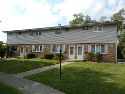 New Lenox Multi Family Home Contingent: 117 Town Crest Drive